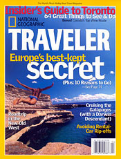 National Geographic Traveler Magazine Cheap Discount Subscription
